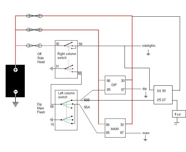 Wiring Diagram - Nervous Breakdown Or Sell - Electrics ... on