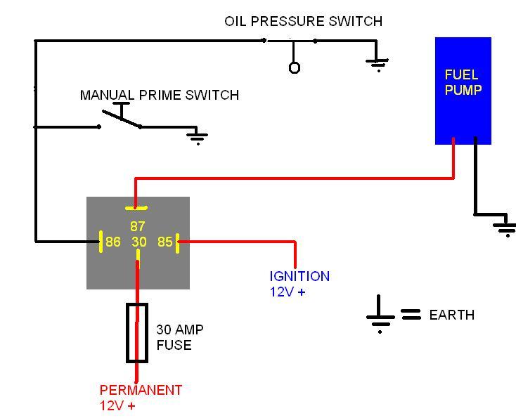 12v relay wiring diagram fuel pump  aamidisblogspot